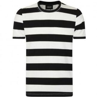 Jim Striped T-Shirt Black and White